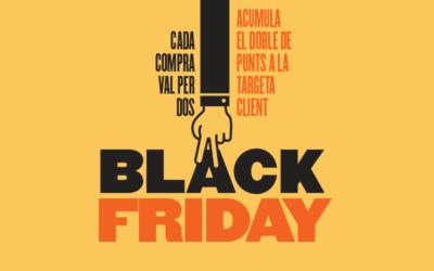 Preparats pel BLACK FRIDAY a la Mater